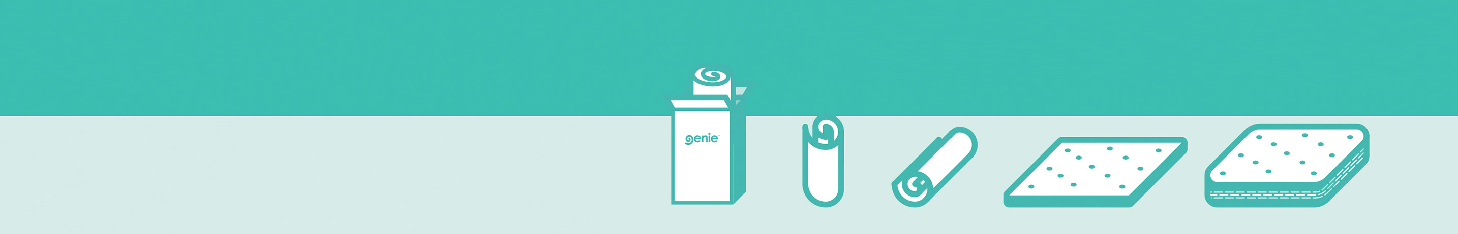 Genie Website Footer